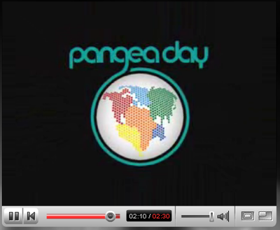 Pangea day youtube